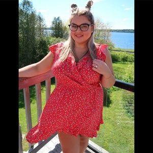 Size xxl dress with cherries